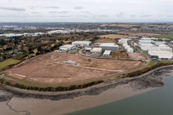 Harbour Gate Business Park: Units could be ready for use by early 2022.